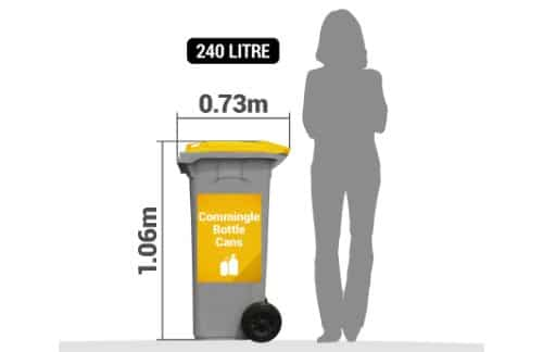 commingled recycling collection Brisbane