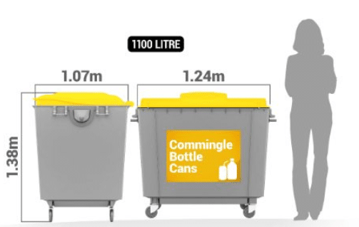 waste management launceston - commingled recycling